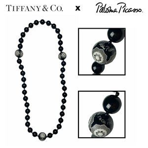 Tiffany & Co. Paloma Picasso Bead Flower Necklace
